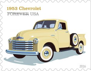 stamp Chevy