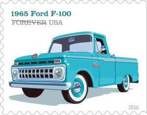 stamp Ford F100