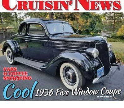 Cars & Coffee Snooping: Cool 1936 Five Window Coupe