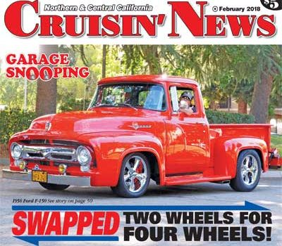 Garage Snooping: Swapped Two Wheels for Four Wheels